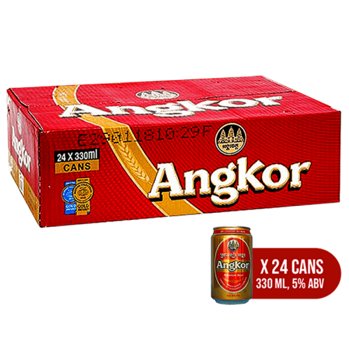 Angkor Beer Can - 24 pack
