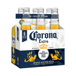 Corona Beer bottle - 6 pack