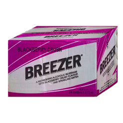 Bacardi Breezer Blackberry Crush