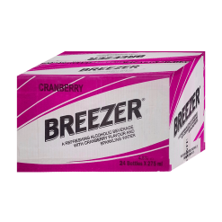 Bacardi Breezer Cranberry Case