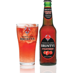 Brunty's Cider Strawberry