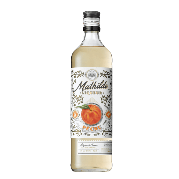 Mathilde Pêche (Peach) Packshot 750ml
