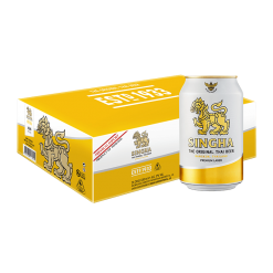 Singha Beer Can - 24 pack
