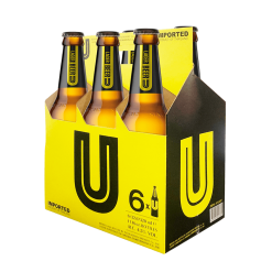 U Beer Bottle 6 Pack